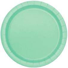 Mint Green 17cm Paper Party Plates, 20pcs