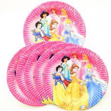Party plates, Princess, 10pcs