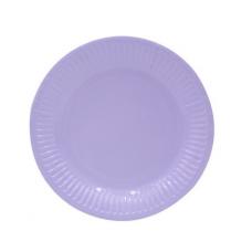Party paper plates, pink, 23cm, 10 pcs