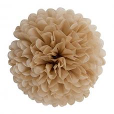 Blotting paper Pompom, beige, 30cm