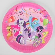 Paper Plates 18cm, 10pcs, My Little Pony