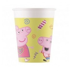 Paper Cups Peppa Pig 200ml - 8pcs