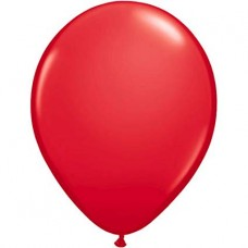 Strong Balloons 30cm, Pastel Poppy Red 1pc