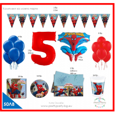 Party set - Spiderman