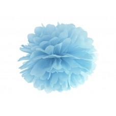 Blotting paper Pompom, light misty blue, 25cm