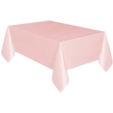 Paper table cloth, light pink, 132 x 183 cm