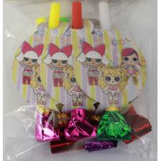Party Whistle 6pcs LOL