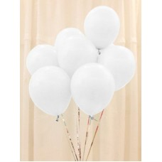 Strong Balloons 30cm, Pastel Pure White 1pc