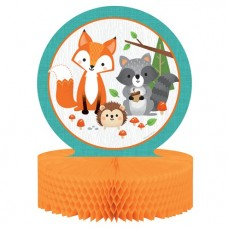 Woodland Animals Honeycomb Centrepiece - 23cm x 30.5cm