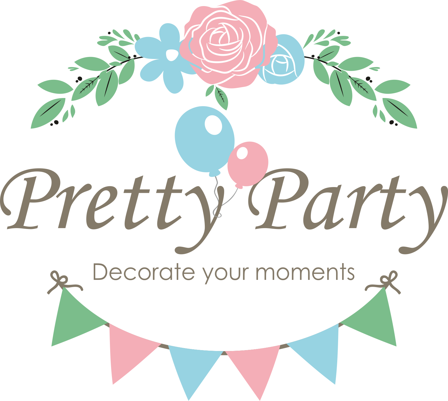 Pretty Party BG - Party Supplies